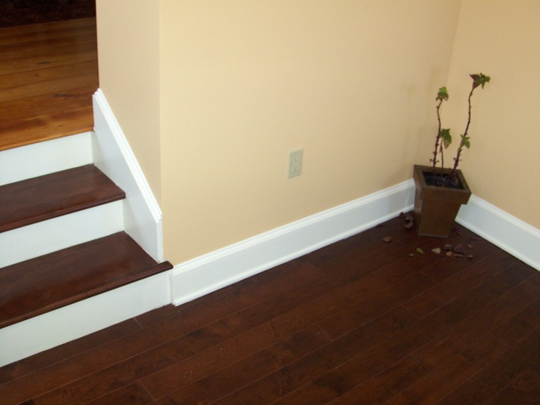 Wood flooring and custom trim greater portland homeworks llc