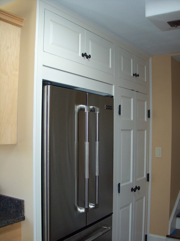 Custom Kitchen Cabinets With Cooler Insert Greater