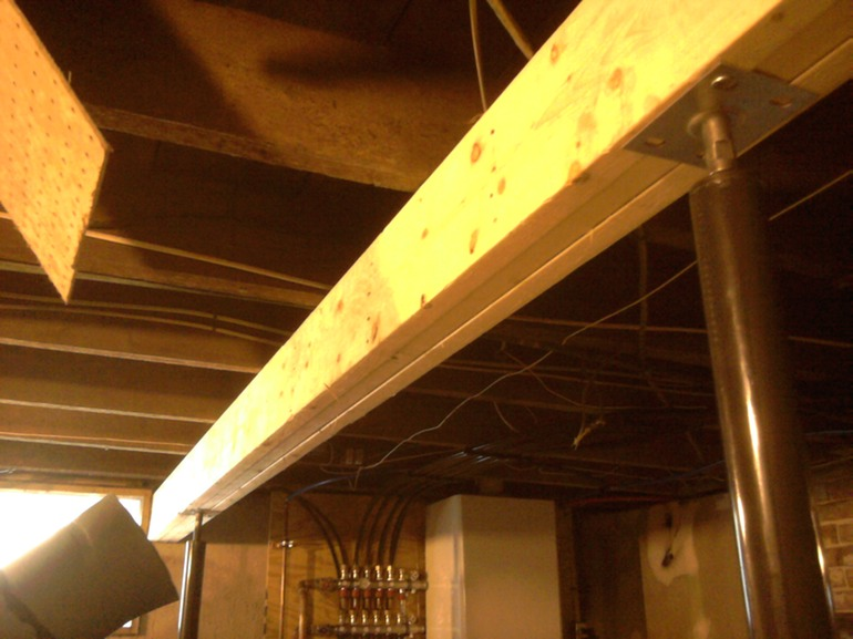 Support Beam Installation Greater Portland Homeworks Llc