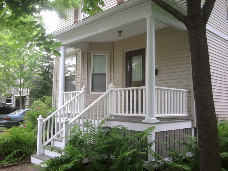 Porch Deck Railings Columns Stairs Greater Portland